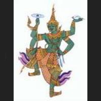 Phra-NARAI / VISHNU Creator Hindu deity !!